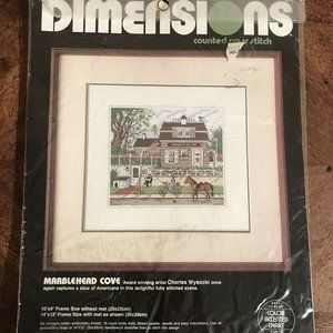 Vintage Dimensions Marblehead Cove Cross Stitch